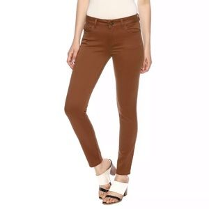 DL1961 Margaux Instasculpt Skinny Jean in Rust